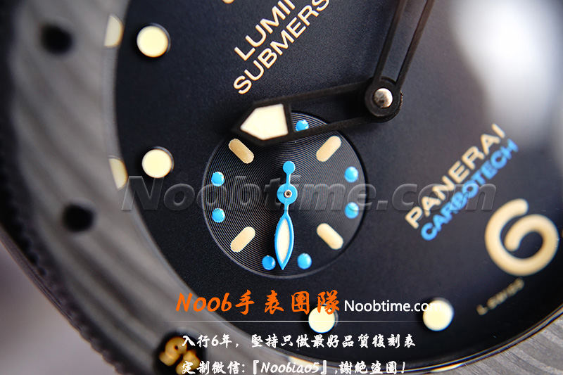 VS厂沛纳海616碳纤维「V3版+9000机芯」VS厂沛纳海616怎么样?  第5张