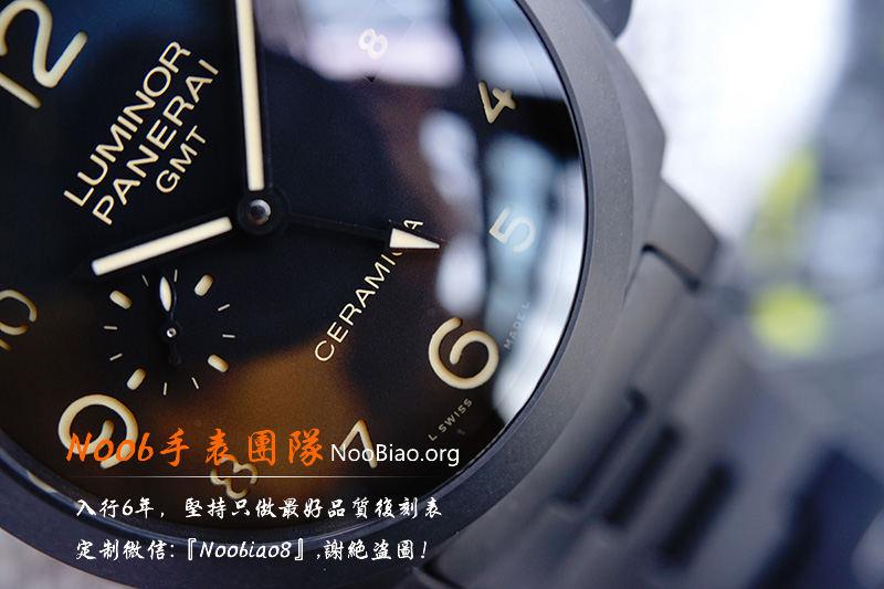 VS厂沛纳海438陶瓷「V2版GMT+9001机芯」VS厂沛纳海438怎么样?  第8张