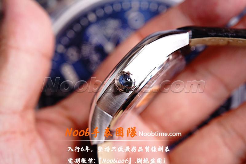VS厂欧米茄蝶飞「8500机芯」罗马数字蓝色秒针不再一眼假  第15张